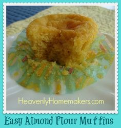 "This was my first time to ""play"" with almond flour. Wow, is it awesome to work with! I had ordered a package from Vitacost to experiement with. It is not an inexpensive ingredient by any means. But I know that using alternative flours occasionally to give my family variety is a healthy choice. Plus, I'd …"