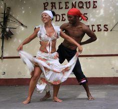 Cuban dancers in Trinidad. by jinolke, via Flickr