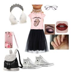 """""""Untitled #110"""" by melissavillalobos214 on Polyvore featuring Converse and Dolce&Gabbana"""