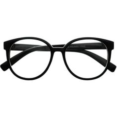 Womens Retro Vintage Style Clear Lens Oval Round Glasses Frames R2430 ($9.95) ❤ liked on Polyvore featuring accessories, eyewear, eyeglasses, glasses, sunglasses, black, round eye glasses, black round glasses, clear eyeglasses and clear lens glasses