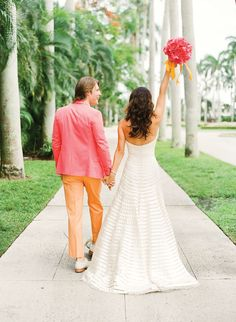 Lilly-Pulitzer-Wedding-Preppy-Couple-Southern-Weddings.jpg (600×819)