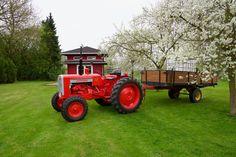 https://flic.kr/p/TAJrhU | Gartenarbeiten mit dem Valmet 565 | Weitere Bilder sind auf www.oldtimertrecker.de