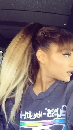 Love this song and Ari sm 💘 Ariana Geande, Ariana Grande Selfie, Ariana Grande 2016, Ariana Video, Ariana Grande Songs, Ariana Grande Pictures, Snapchat Video, Instagram And Snapchat, Queens