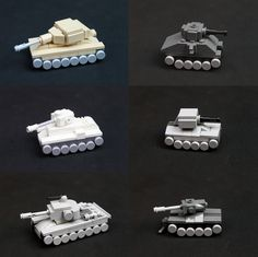 LEGO Micro Tanks   by jtheels