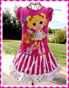 girls LaLaLoopsy custom boutique twirl by BlossomBlueBoutique, $34.99