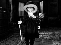 Gage Creed - Pet Semetary, 1989. I really find this photo creepy as hell.