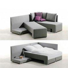 Vivete in un piccolo appartamento e non avete abbastanza spazio quando si presentano gli ospiti a dormire?