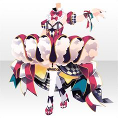上半身/インナー イモータルトラピーズスタイルAピンク Character Outfits, Character Art, Character Design, Anime Circus, Circus Characters, Circus Outfits, Circus Fashion, Anime Uniform, Chibi Hair