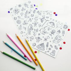 Colour-in Sticker Sh