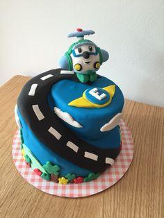 cake robot carpoli robotcarpoli heli cake gateau