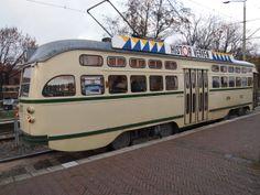 Oude tram uit Den Haag