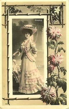 bygonefashion: 1890's - 1910's fashion