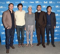 Pin for Later: Kate Winslet Dazzles at the Toronto International Film Festival  Channing Tatum and Steve Carell joined the cast and crew from Foxcatcher at a press conference.