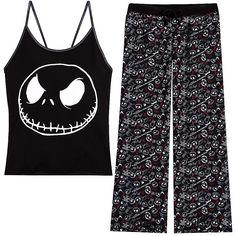 The Nightmare Before Christmas Pajama Set for Women | Pajama Sets | Disney Store