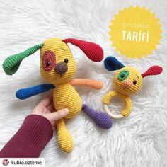 Canım Amigurumi💕 (kit l . Crochet Baby Toys, Crochet Patterns Amigurumi, Cute Crochet, Crochet Animals, Crochet Dolls, Newborn Toys, Newborn Gifts, Baby Gifts, Handgemachtes Baby