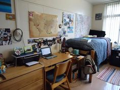 My side of the dorm- University of Florida.