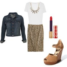 Untitled #195 by gingerscloset on Polyvore Jacket and dress maybe is fashionable on Monday