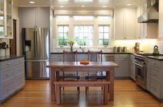 Kitchen Cabinet Underlights Inspirations  #cabinetdesign #cabinetdesign Two Tone Kitchen Cabinets, Upper Cabinets, Gray Cabinets, Base Cabinets, Colored Cabinets, Pantry Cabinets, Shaker Cabinets, Kitchen Units, Kitchen Cabinets Grey And White