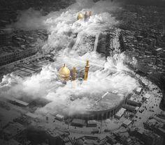 Karbala is a heaven Karbala Iraq, Imam Hussain Karbala, Islamic Images, Islamic Pictures, Karbala Pictures, Muslim Photos, Imam Hussain Wallpapers, Karbala Photography, Islamic Paintings