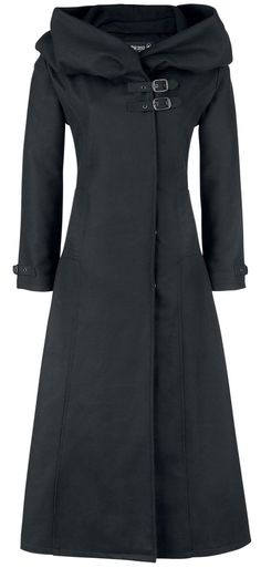 *cinderella* hooded wool coat <3