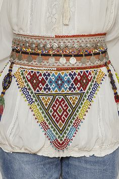 Cinturon colores etnico