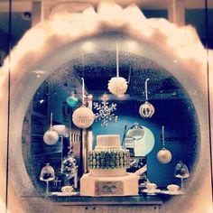 Our Christmas window  #macaron #Soirette #Christmas #holiday