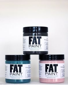 Happy Tuesday! What colour are you dipping into today? We can't wait to play with Peacock, Cast Iron and Juno later on! #FATPaint #meet2016colour