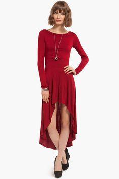 Exmeralda Hi-Lo Dress.