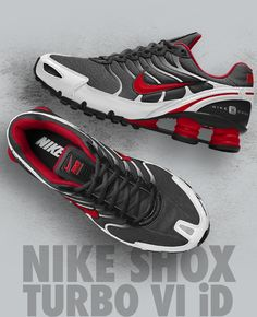 301ae78d1595b0 Dare to Wear Sneakers  Make Them Yours. Brooklyn StyleNike ShoxNike  GolfSneakerKicksSlippersSneakersKeds. NIKE SHOX TURBO VI iD