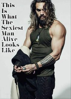 Momoa Sexiest Man Alive Edit's by Shelley Wilczewski MARRIED to a cool-af chick, Lisa Bonet! It can work, being an older woman with a younger man. I personally could NOT do it but you go, girl! Jason Momoa Aquaman, Aquaman Actor, Khal Drogo, Gorgeous Men, Beautiful People, Avan Jogia, Taylor Kitsch, Ryan Guzman, Actrices Hollywood