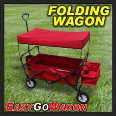 Cart Transports Products and/or Children. Made by EasyGoWagon. - Toys & Games - Ride On Toys & Safety - Wagons & Push & Pull Toys