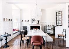 Inside a Historic French Home With Unique Interiors via @domainehome