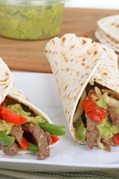 Steak (or Chicken) Fajitas