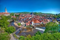 Cesky Krumlov - a perfect fairytale town in the Czech Republic