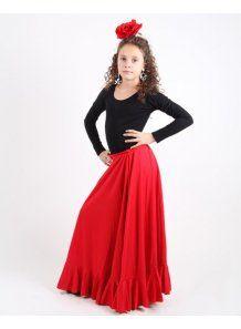 Compra Faldas Flamencas Baratas niña - Baile Flamenco desde 14,90 € - El Rocío
