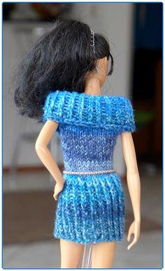 """7 Strickanleitungen für Puppenkleidung Serie Basics von """"Ina strickt"""" - aus Sockenwolle"""