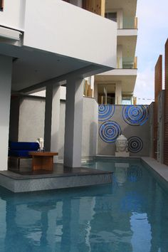 One of the swimming pools at Luxury Beachfront Condo in Phuket, Thailand
