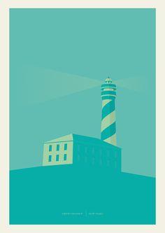 Faro by Sigfrid Romañach, via Behance