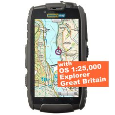 Android GPS TX3 smartphone - OS Explorer 1:25,000 Great Britain  £459.00
