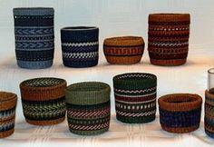 Linda Scherz Allen Adirondack Basketry, New York Linen Baskets, Basket Weaving, Napkins, Wax, York, Home Decor, Decoration Home, Towels, Room Decor