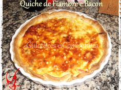 Receita Quiche de fiambre e bacon de SoniaMota - Petitchef