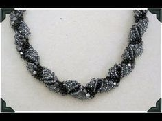 Spiral Rope Seed Bead Tutorial // Bead Weaving // ¦ The Corner of Craft - YouTube