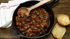 Caponata is Italian style of sweet&sour flavor. Italian home cooking meal, can't find at Italian restaurant that easily. It's plant based recipe ...
