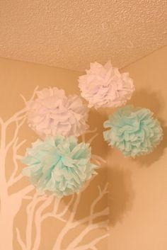 Dollar Store Crafts-Tissue Pom Poms