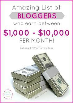 25+ Income Reports from Bloggers Who Make $1,000 to $10,000 per Month -
