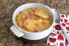 Easy and Convenient Slow Cooker Scalloped Potatoes and Ham