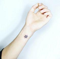 64 Mejores Imágenes De Tatuajes De Copo De Nieve Ice Crystals