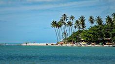 Praias para conhecer na Costa do Conde no litoral sul da Paraíba