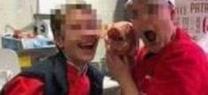 Buongiorno Link: 2 dipendenti della Carrefour, in posa sorridenti, ...