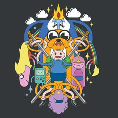 http://www.neatoshop.com/product/Adventure-Time-Multi-Character